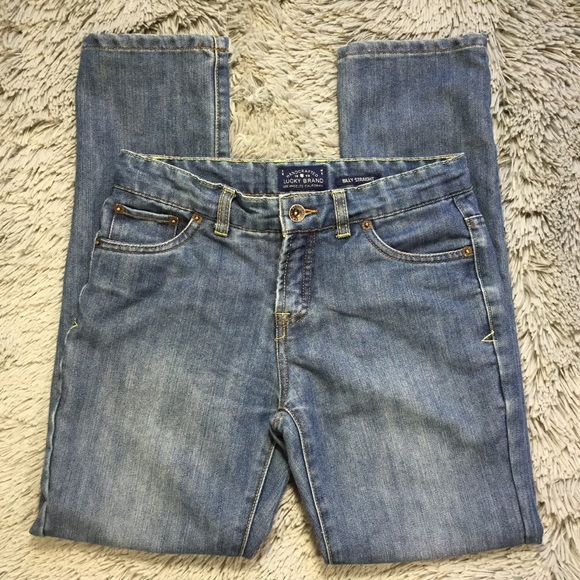 Lucky Brand Other - Lucky Brand billy straight jeans